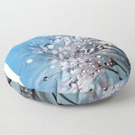 dandelion pissenlit 4 Floor Pillow