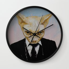 Mister Cat Wall Clock