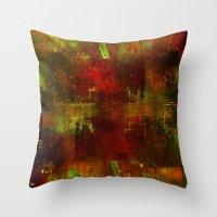 velvet underground Throw Pillows featuring underground by Joe Ganech