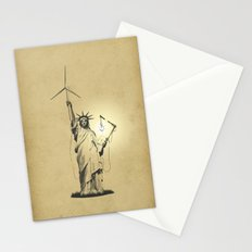 And then there was light Stationery Cards