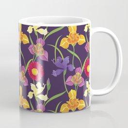 Elegant Floral Pattern Coffee Mug