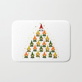 Merry Gnoming Christmas Bath Mat