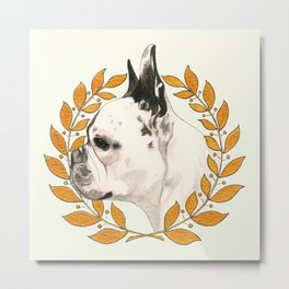 French Bulldog - @french_alice dog Metal Print