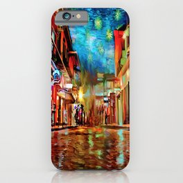 French Quarter Under the Stars iPhone Case