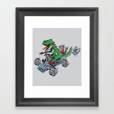 Clever Shell Framed Art Print