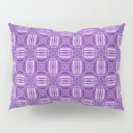 Ultra Violet and White Garden On A Sunny Day Pillow Sham