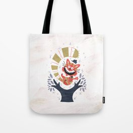 Cheshire Cat - Alice in Wonderland Tote Bag