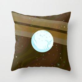 Enceladus, Saturn's Slushy Throw Pillow