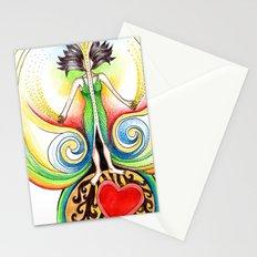 Energy Volcano Stationery Cards