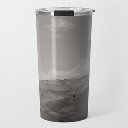You will see me flying like a wild rain... (Vintage b/w) Travel Mug