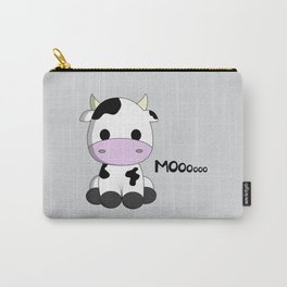 Cute baby cow cartoon Carry-All Pouch