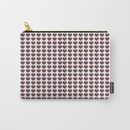 Pattern of hearts Carry-All Pouch