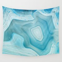 dave grohl Wall Tapestries featuring THE BEAUTY OF MINERALS 3 by Catspaws