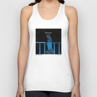 skyfall Tank Tops featuring No277-007-2 My Skyfall minimal movie poster by Chungkong