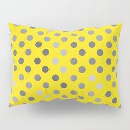 Polka Proton Yellow Pillow Sham