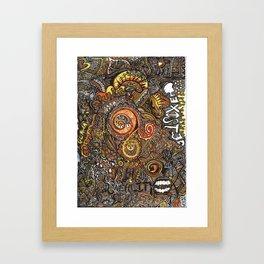 EXIST Framed Art Print