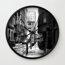 Moravian Street Wall Clock