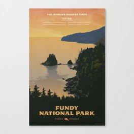 Fundy National Park Canvas Print