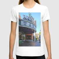 movies T-shirts featuring Day at the movies by Debra Slonim Art & Design
