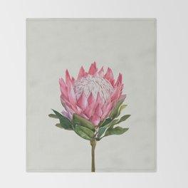 Protea Throw Blanket