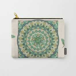 Luna Moth Meditation Mandala Carry-All Pouch