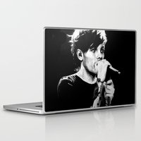 louis tomlinson Laptop & iPad Skins featuring WWA Louis Tomlinson by crystaltaysm