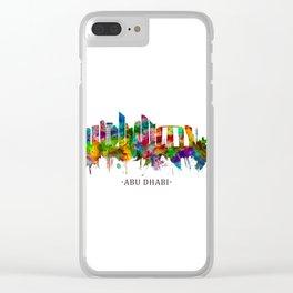Abu Dhabi UAE Skyline Clear iPhone Case