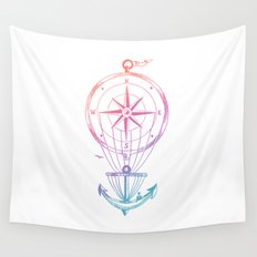 Going Places Wall Tapestry