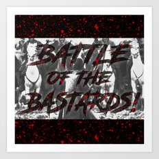 Battle of the Bastards Art Print