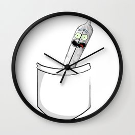 Joint Rick in a pcoket Wall Clock