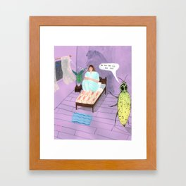 Too old for this  Framed Art Print