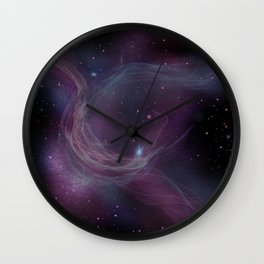 Nebula IX Wall Clock