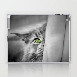 Small brother is watching you (b&w) Laptop & iPad Skin