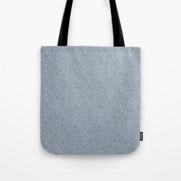 Minimal Pattern :: Blue Triangle Moon Tote Bag