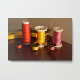 Sewing notions Metal Print