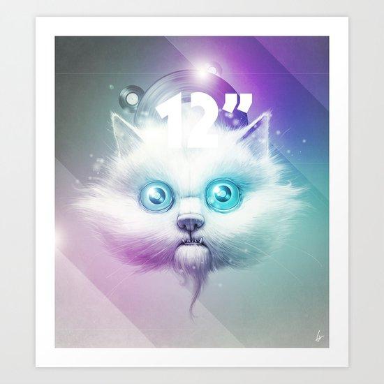 "Disco 12"" Art Print"