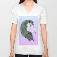 my little pony V-neck T-shirts featuring My Little Pony by Josefina F. Vigó