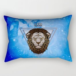Zodiac sign lion Rectangular Pillow