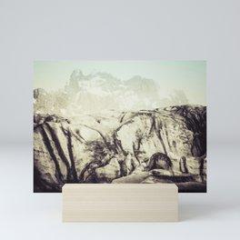 At the Glacier Mini Art Print