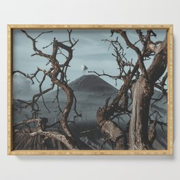 Fine Art Landscape Photograph - Mount Bromo Serving Tray