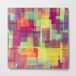 Rainbow Patch 004 Metal Print