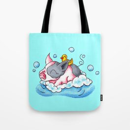 Bath Time! Tote Bag