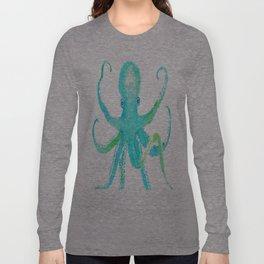 Tropical Octopus Long Sleeve T-shirt