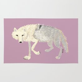Wolves of The world: Artic Wolf (Canis lupus arctos) (c) 2017 Rug