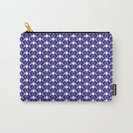 Moon Phases Pattern Carry-All Pouch