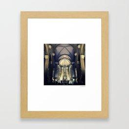 Church of St Anthony (Istanbul) Framed Art Print
