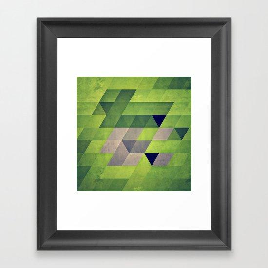 gymyt bryykkr Framed Art Print