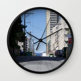 Alleyway Wall Clock