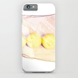 Emulsion Lift 5- When Life Gives You Lemons iPhone Case