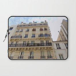 Paris France Downtown Laptop Sleeve